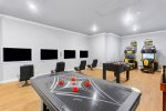 An exciting games room with something fun for everyone in the family