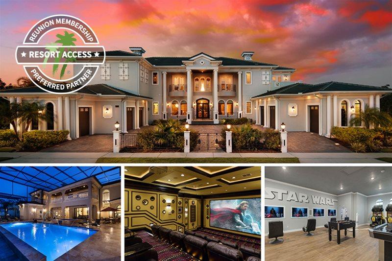 9 Bed Luxury Villa Rental In Reunion Resort Orlando