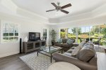This home is located in a beautiful area and is decorated beautifully