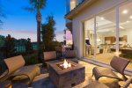 Enjoy the fire pit in the evenings