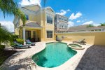 Soak up the Florida sun in the private pool