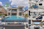 Infinity Luxury | 8 Bed Villa with Elevated Views, Infinity Edge Pool, Fitness Room, 2 Game Rooms, Secret Playroom, Custom Built Bunkbeds