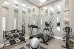 Second floor fitness center