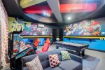 Have some fun in the games room with a PlayStation 4, Xbox One S, pool table, and multi-arcade system