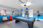 The family will love the games room perfect for the evening entertainment.
