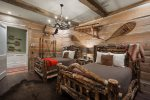 The Cape Canaveral theme bedroom inspired by the Atomic Age and the Space Race