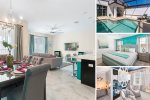 Oasis Escape | 4 Bed Townhome with Custom Kids Bedroom and Private Pool