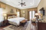 Make yourself at home in this king bedroom
