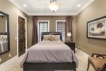 Rest well and peacefully in this queen bedroom