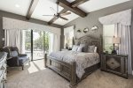 You`ll love the comfort of this downstairs master bedroom