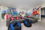 Upstairs loft comes complete with a Playstation 4 and XBox