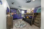 The kids will be ready to explore the universe in their themed bedroom