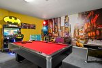 Endless fun awaits you in the game room