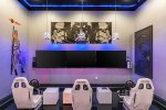 The games room allows you to play multi-player games with SMART TVs