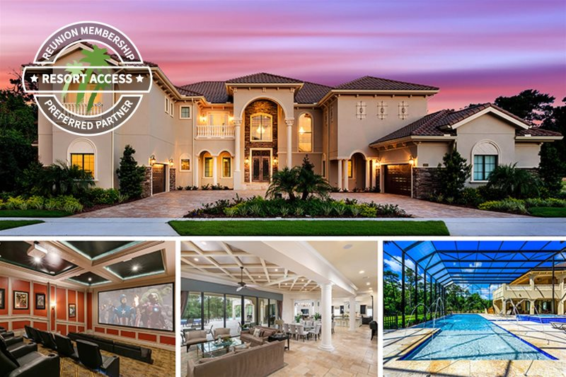 Magic Mansion Reunion Vacation Homes Orlando Fl