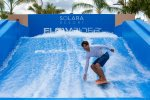 The one of a kind Flowrider in Solara resort