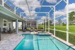 Enjoy a dip whenever with your private pool