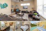 Patriots Oasis - Luxury 4 Bedroom 3.5 Bath Pool Home