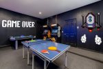 Get your game on with ping pong, air hockey, and arcade machines