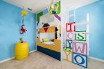 The kids will love this castle bunk bed