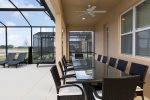 Enjoy the privacy of your own patio area