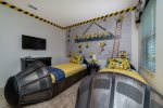 Themed bedroom that the kids will love