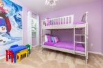 Let the kids decide which bunk they will sleep on in their own bedroom