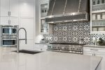 Truly a gourmet chef`s kitchen with magnificent appliances including a coffee bar