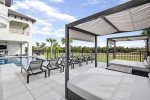 The luxury patio furniture allows you to relax in your private oasis