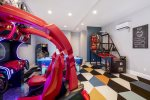 Head into the KidZone game room, full of the latest and greatest arcade games