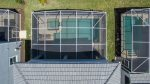 Birds-eye-view of pool