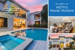 Ultimate Vacation Home Winner | 9 Bed Home Featured In HGTV's House Hunters with Theater Room, Custom Kids' Bedroom, Games Room, Private Pool and Spillover Spa