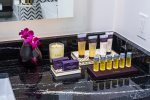 High-end spa products by ESPA are provided