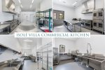 A commercial kitchen perfect for any chef to create delicious meals