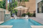 Enjoy the Florida sunshine at your own private pool with spillover spa