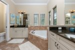 Ensuite bathroom with walk in shower
