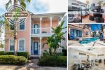 Fairview Living | 4 Bed Villa with Kids' Bedroom, Screened-In Private Pool and Spillover Spa
