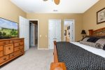 Rest well in this second floor master bedroom
