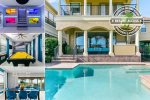 Golden Villa | 6 Bed 4 Bath Pool Home with Golf Course Views in Reunion Resort