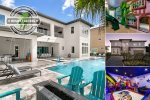 Worldwide Luxury   9 Bedroom Purpose Built Home with Custom Pool, Game Room, Theater Room and more