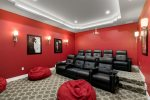 Watch a movie in the private home theater