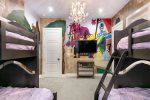 Tuck your princesses in for a regal slumber, complete with a SMART TV