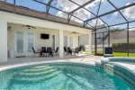 Enjoy the amenities of this homes` game room