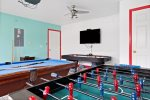 No game room is complete without a pool table