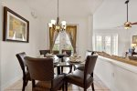 Enjoy a dinner on this beautiful dining table with the whole family