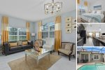 Scenic Champion | 5 Bedroom Townhouse with Modern Decor and Splash Pool!