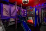 Enter another world of action and heroism in this impressive kids bedroom
