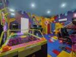 A variety of arcade games for all ages