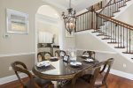 Formal Dining Room with seating for six