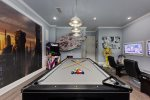 Unwind while playing some pool
